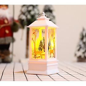 Đèn lồng Giáng Sinh có đèn LED trang trí cây thông hoặc không gian Noel