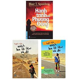 Combo 3 cuốn:  Hành Trình Về Phương Đông + Xách Ba Lô Lên Và Đi - Tập 1 + Tập 2 ( Tặng kèm Bookmark Happy Life)