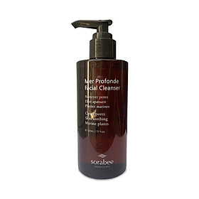 Sữa rửa mặt Sorabee Mer Profonde Facial Cleanser 210ml
