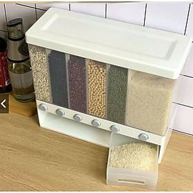 Thùng đựng gạo và ngũ cốc chống ẩm nhiều ngăn