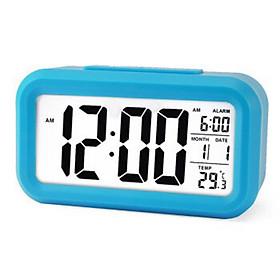 Đồng hồ báo thức điện tử để bàn mini thông minh đa chức năng DH89