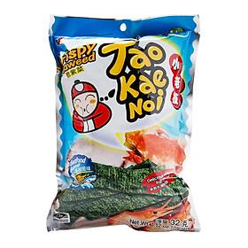 Snack rong biển TaoKaeNoi Crispy Seaweed Vị Hải Sản - Túi 32g