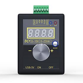 SG-002 Handheld Small Voltage Current Generator DC 0-10V 0-22mA Current Voltage Signal Producer