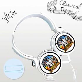 Tai nghe game PUBG thiết kế thông minh cá tính cắm dây có mic anime chibi