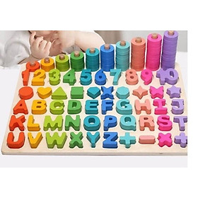 Đồ chơi Giáo dục 6 in 1 - Education Toys for Kids 6 in 1