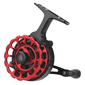 Fly Fishing Reel Wheel with High Foot Fishing Reels Aluminum Alloy Fishing Reel for Ice-fishing Raft Fishing