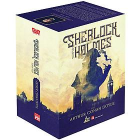 Hộp sách Sherlock Holmes toàn tập (Combo 3 tập - Tặng kèm 01 Bookmark độc đáo)