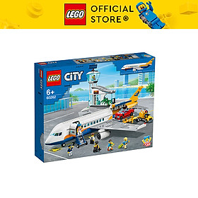 Đồ chơi lắp ráp mô hình LEGO CITY Máy bay chuyên chở hành khách 60262