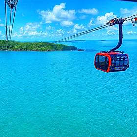 Tour Cano 5 Đảo - Cáp Treo Hòn Thơm, Phú Quốc, Khởi Hành Hàng Ngày, Đón Trung Tâm Dương Đông
