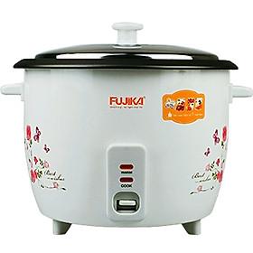 Nồi Cơm Điện 1.5L Nắp Rời Fujika FJ-NC1501 Công Suất 500W Cho Gia Đình 3 - 5 Người Ăn-Hàng Chính Hãng