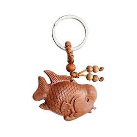 Móc khóa 3D cá La Hán mang lại Thịnh Vượng và May Mắn MK17