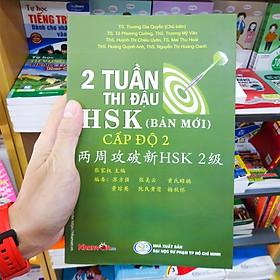 Sách - 2 Tuần Thi Đậu HSK Cấp Độ 2 - Sách luyện thi tiếng Hoa độc quyền