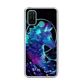 Ốp lưng dẻo cho điện thoại VSMART JOY 4 - 0485 Wolf - Hàng Chính Hãng