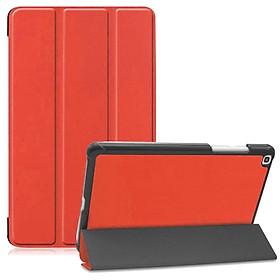 Bao da chống sốcsiêu mỏng cho máy tính bảng Samsung Galaxy Tab A8 8.0 T295 / T290 / T297 (bảo vệ toàn diện, chất liệu cao cấp, mặt da siêu mịn) - Hàng nhập khẩu