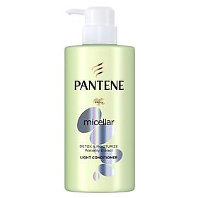 Dầu Xả Pantene Pro-V Micellar Làm sạch & Dưỡng ẩm Chiết xuất Hoa súng 300 ml