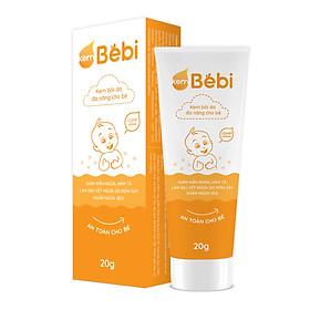 Kem Bebi đa năng - giảm mẩn ngứa, hăm tã, làm dịu vết thương do rôm sảy, ngăn ngừa sẹo - an toàn cho bé - Tuýp 20g