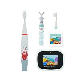 Bộ bàn chải tập đánh răng Premium cho bé từ 3 tuổi Marcus & Marcus - Marcus