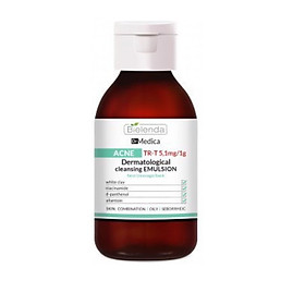 Sữa rửa mặt Dr Medica Dermatological Anti Acne Cleansing Emulsion for Face Cleavage and Back 250ml