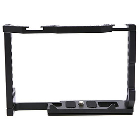 Aluminum Alloy Camera Cage Compatible for Canon EOS 90D/80D/70D: