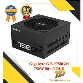 NGUỒN MÁY TÍNH Gigabyte GP-P750GM 750W 80+ GOLD Modular - CHÍNH HÃNG