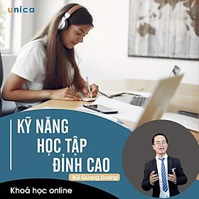 - Khóa học PHÁT TRIỂN CÁ NHÂN-  Kỹ năng học tập đỉnh cao- UNICA.VN