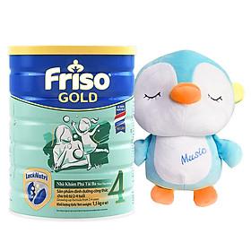 Sữa Bột Friso Gold 4 Cho Trẻ Từ 2-4 Tuổi 1.5kg + Tặng chim cánh cụt nhồi bông