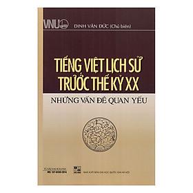 Tiếng Việt Lịch Sử Trước Thế Kỷ XX - Những Vấn Đề Quan Yếu