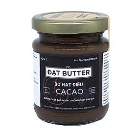 Bơ hạt điều cacao tự nhiên Đạt Butter (240g)