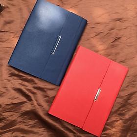 B&J - Sổ tay bìa thay giấy tiện lợi S010 chất liệu da PU cao cấp Chính hãng B&J - Kèm Ruột Sổ