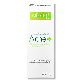 Kem ngăn ngừa mụn kháng viêm Smooth E Acne Hydrogel (7g)