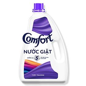 Nước Giặt Comfort Chống Lão Hóa Quần Áo Hương Thời Thượng (2,4Kg/Chai)