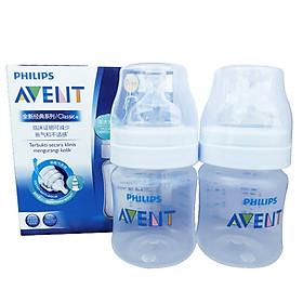 Bộ 2 Bình Nhựa PP Philips Avent 125ml - 560.27