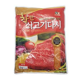 1 KG Bột Nêm Gia Vị Bò Hàn Quốc NONG WOO - Thương Hiệu Hàn Quốc