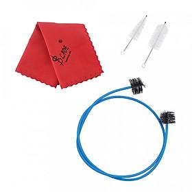 Hình đại diện sản phẩm Trumpet Maintenance Cleaning Care Kit Set Including Mouthpiece Brush Valve Brush Flexible Snake Brush Cleaning Cloth