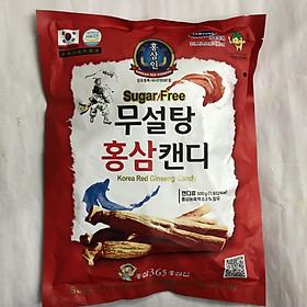 Kẹo hồng sâm không đường Hàn Quốc 500g, kẹo hồng sâm không đường 365, kẹo sâm