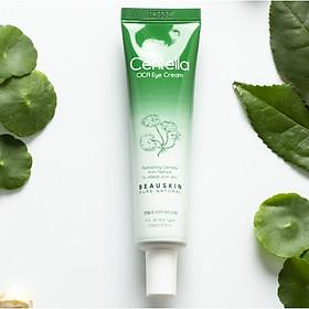 Kem dưỡng da vùng mắt ngăn ngừa và giảm bọng mắt thảo dược Beauskin Centella Cica Eye Cream Hàn quốc (30ml) Kèm 1 kính mát