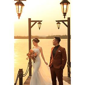 Chụp ảnh cưới tại Hồng Linh Studio-Voucher gói chụp ảnh cưới tại Hà Nội (RED RUBY)