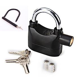 Combo bộ 2 ổ khóa chống trộm thông minh và khóa chống trộm hình chữ U