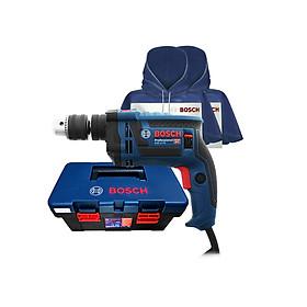 Bộ máy khoan động lực Bosch GSB 13 RE SET 100 chi tiết tặng kèm 2 Áo mưa Bosch