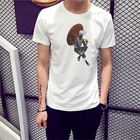 Áo Thun Nam Cực Hot - Chất Cotton - Dáng Body Thời Trang Hàn Quốc Giá Rẻ Cực Đẹp Kiểu Dáng Năng Động Cá Tính Siêu Hot Phù Hợp Đi Làm, Đi Chơi ANM-112 Naruto