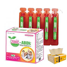 Thưc phẩm bổ sung kẽm cho cơ thể ZinC - ABDK Hàng chính hãng (Tặng kèm khăn lau mặt màu trắng)