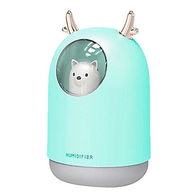 Portable USB Humidifier  Mute Air Purifier For Travel Office Home Cars