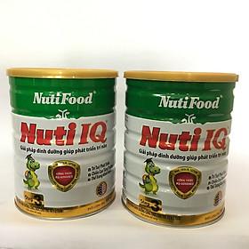 Combo 2 hộp NUTI IQ STEP 3 900 gr : sữa cho trẻ 1-2 tuổi với công thức IQ-Advance