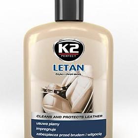 Kem tẩy vết bẩn và bảo dưỡng, bảo vệ đồ da - K2 letan