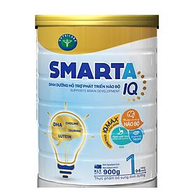 Sữa bột SmartA IQ 1 hỗ trợ phát triển não bộ & dinh dưỡng cho bé 0-6 tháng tuổi (400g, 900g)