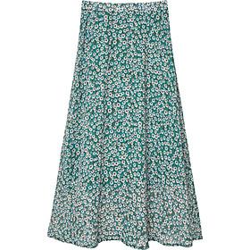 Chân váy xòe dáng dài chữ A Vintage dễ thương