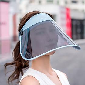 Mũ Đội Đầu Kèm Tấm Che Mặt Có Thể Gập & Điều Chỉnh Kích Thước Chống Tia UV / Giọt Bắn / Bụi Bẩn