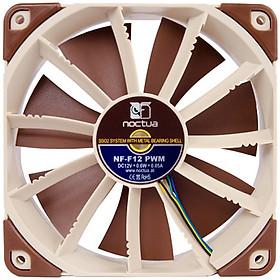 Quạt Cây Owl (NOCTUA) NF-F12 PWM 12cm ( Điều Khiển Nhiệt Độ/ 4 Chân Quạt Gió/ U12S)