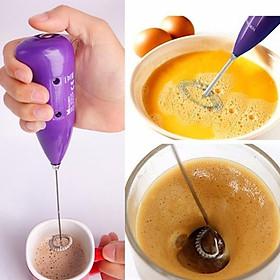 Máy tạo bọt cafe và đánh trứng cầm tay thật tiện lợi
