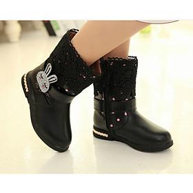 Giày boot ống cổ cao thỏ con SC004